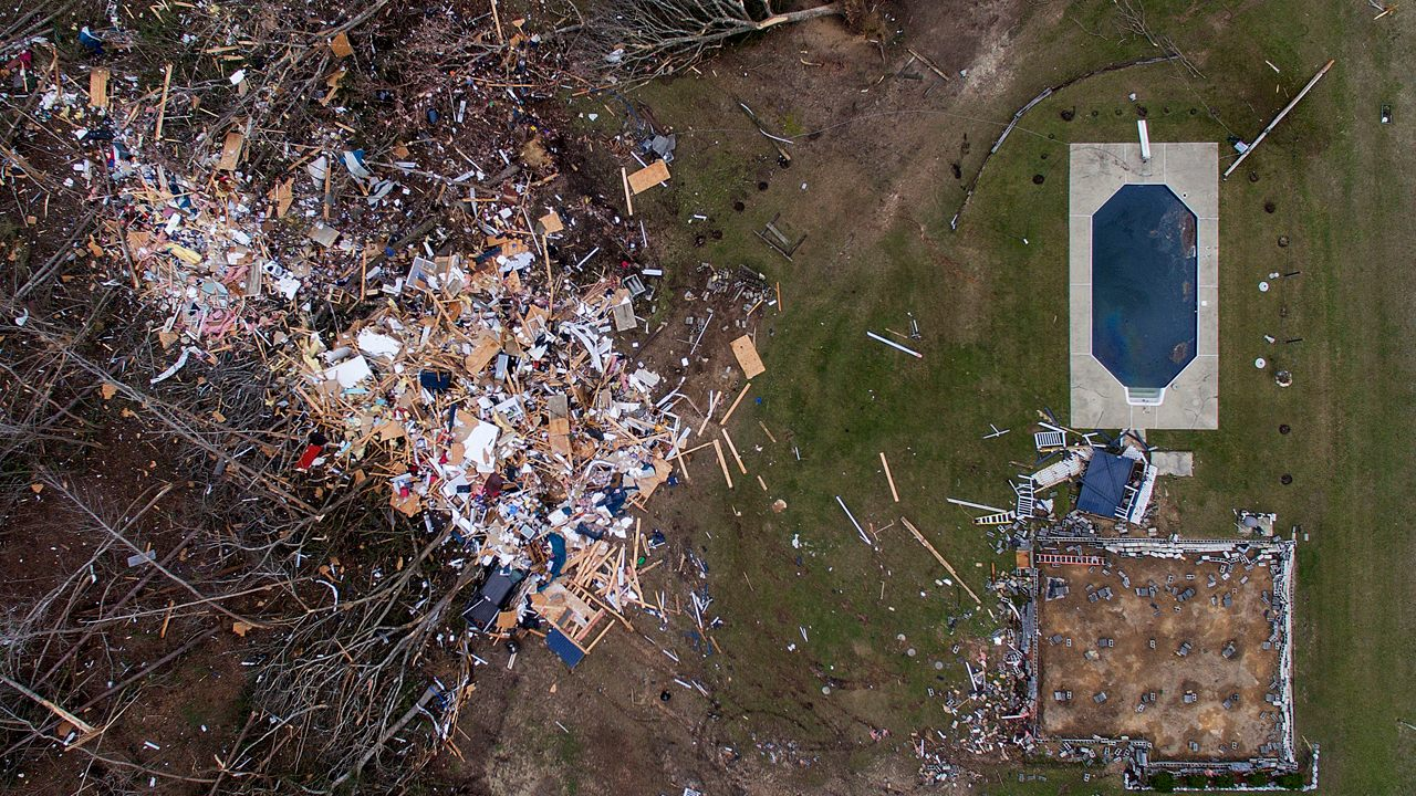 Alabama Tornado Leaves Death And Destruction In Its Wake